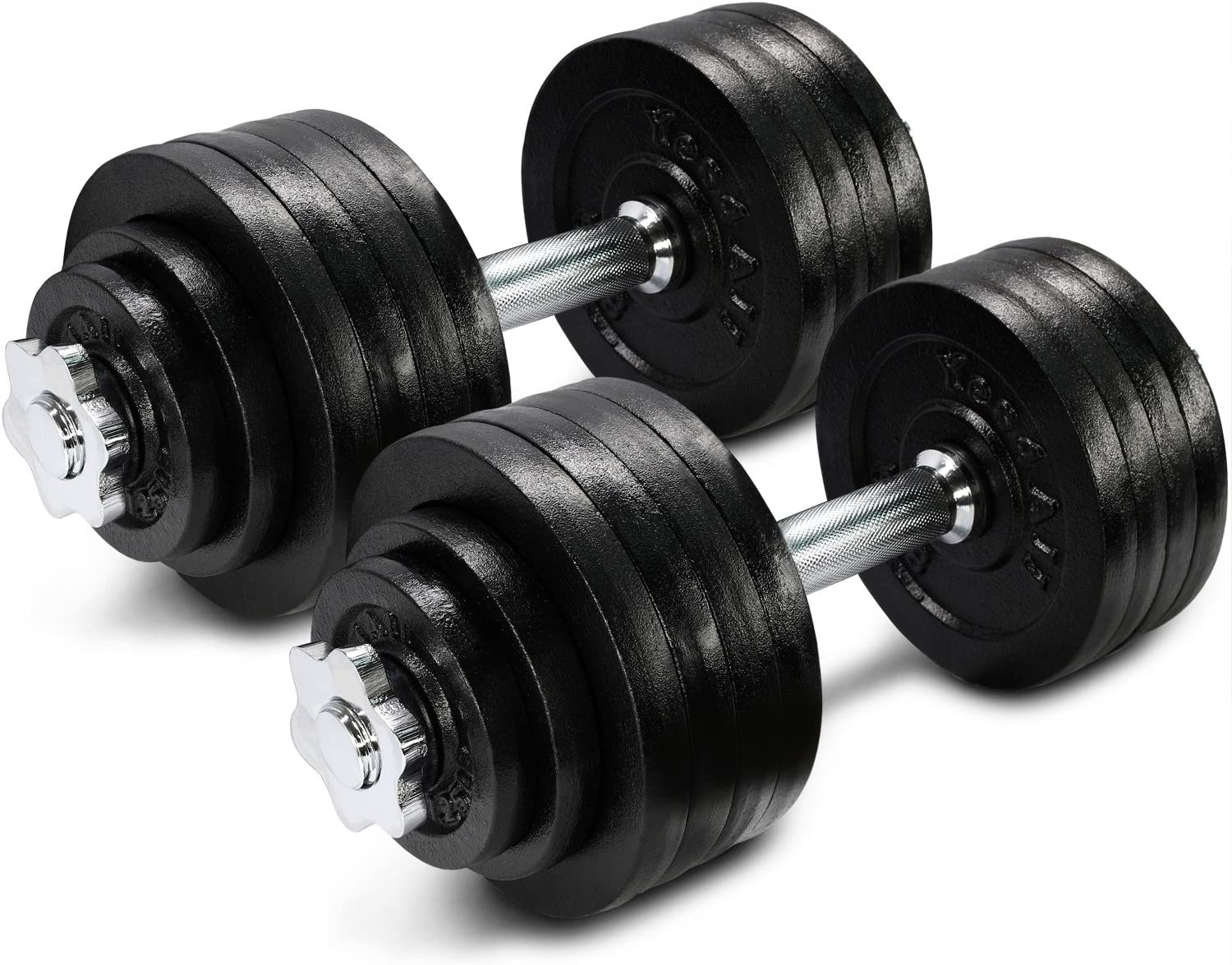Yes4All Adjustable Dumbbells set, 105 pounds, best weight sets