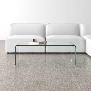 all modern grayson sled coffee table