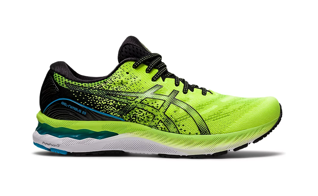 asics gel nimbus 23, running shoes for high arches