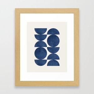 blue navy art print, best Zoom backgrounds