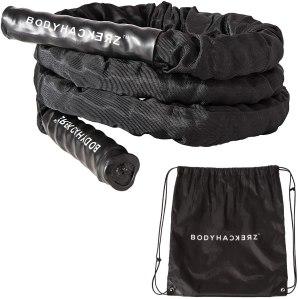 bodyhackerz weighted jump rope