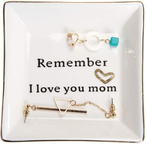 home smile ceramic dish, cheap mother's day gifts