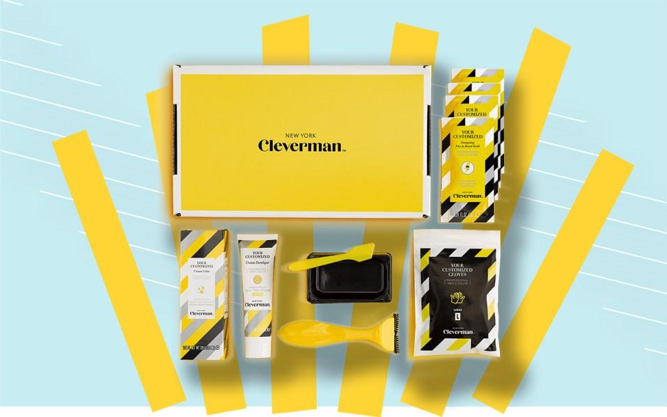 cleverman hair dye for men