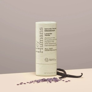 hey humans natural deodorant, how to go plastic-free