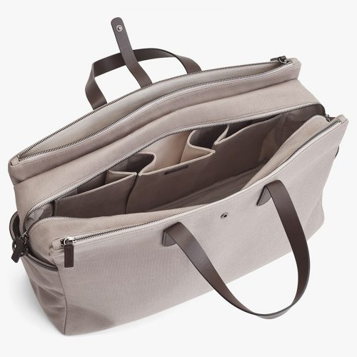 Cuyana triple zipper duffel bag