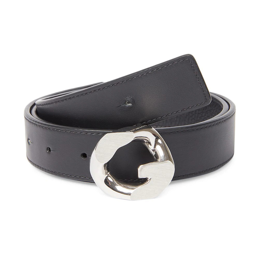 Givenchy G-Chain Reversible Leather Belt