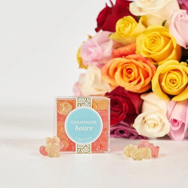Bear Hugs flower bouquet, gifts for wife