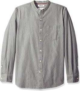 collarless shirt goodthreads