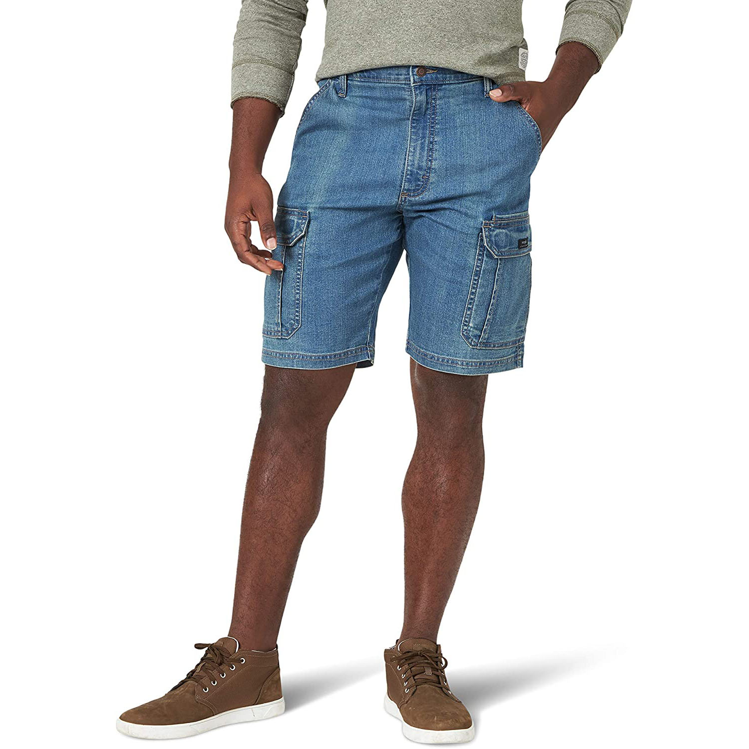 Wrangler Authentics Classic Relaxed Fit Stretch Cargo Short
