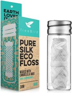 biodegradable dental floss, how to go plastic free
