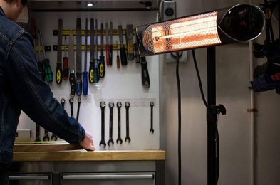 make your garage a winter retreat with the best garage heaters