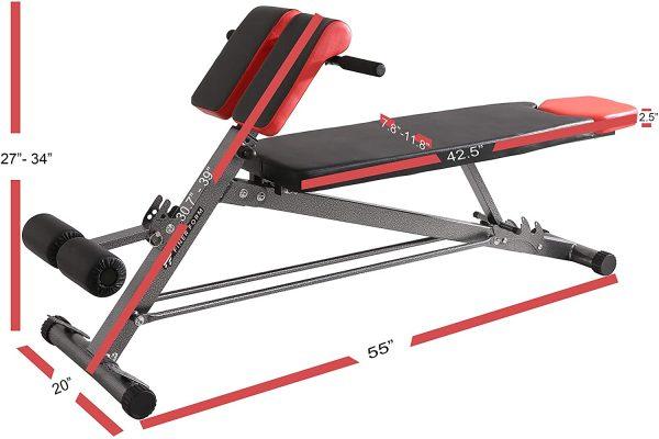 FinerForm adjustable workout bench