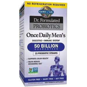 garden of life probiotics for men, best supplements for men