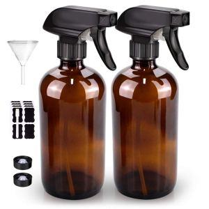 glass spray bottle, how to go plastic free