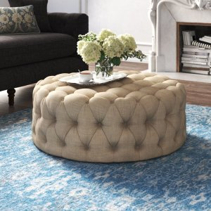 kelly clarkson home acklen wide tufted ottoman