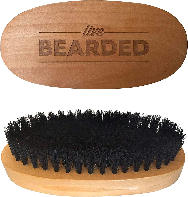 live bearded beard brush