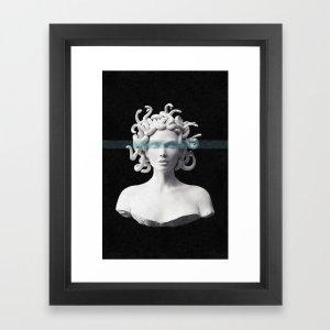 Medusa art print, Zoom backgrounds, best Zoom backgrounds