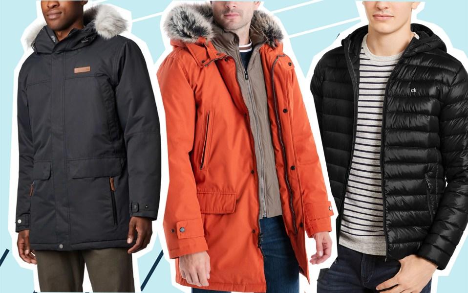men's winter coats on sale, best