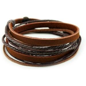 FRD.2Y Genuine Leather Bracelet for men