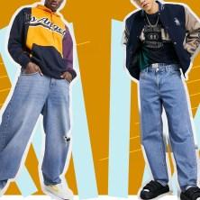 men in baggy jeans