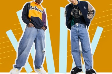 men in baggy jeans
