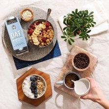 want a non-dairy, eco-friendly milk alternative? try oat milk