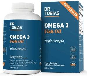 omega-3 fish oil supplement, best supplements for men