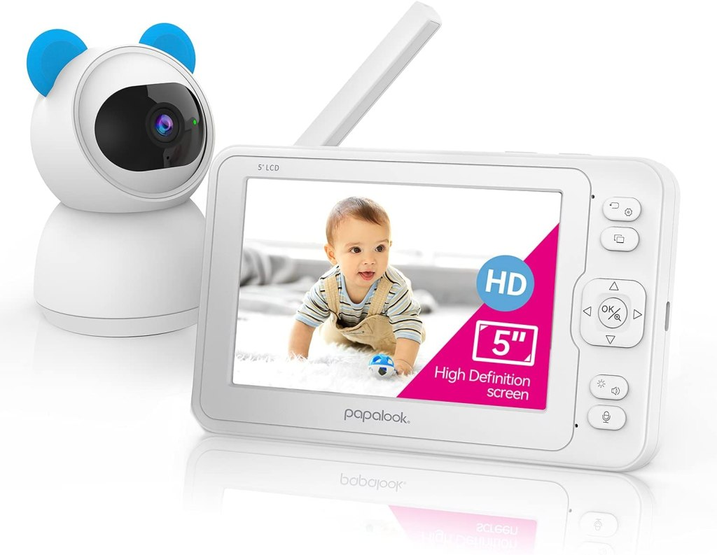 Papalook BM1 FHD 1080P Video Baby Monitor with Camera and Audio