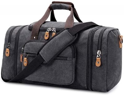 plambag canvas duffle bag