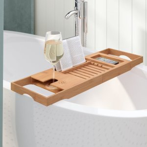 bathtub tray rebrilliant tulare bath caddy