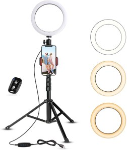 UBeesize ring light, best Zoom setup