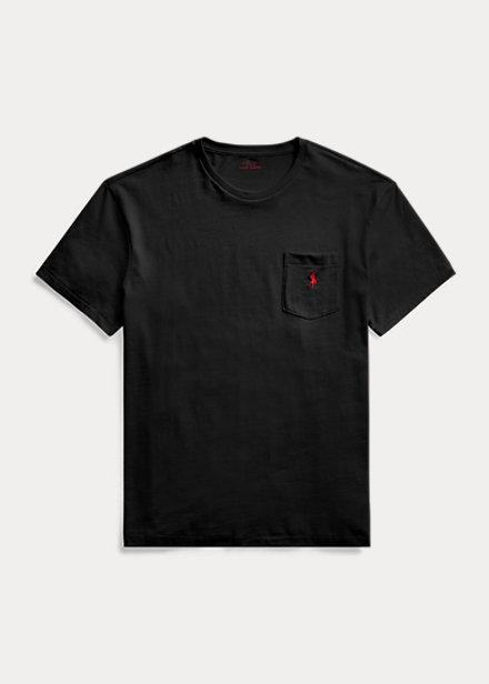 Polo Ralph Lauren Classic Fit Jersey Pocket Black T-Shirt