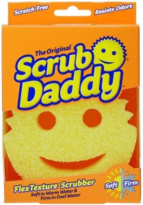 scrub daddy flextexture sponge, as seen on shark tank