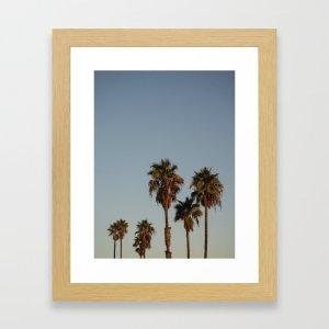 sunset framed art print, Zoom backgrounds