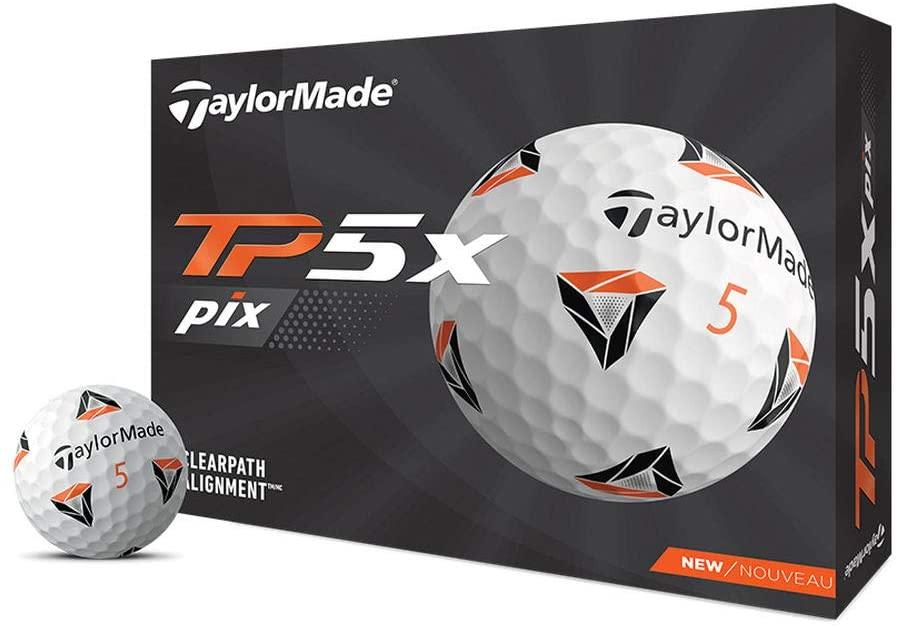 taylorMade-tp5x, best golf balls 2021