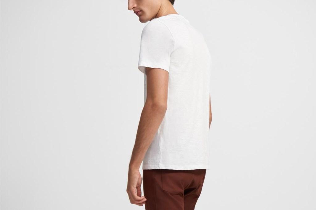 theory white t shirt