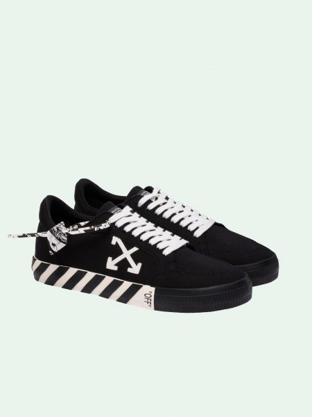 off-white vulcan black sneakers