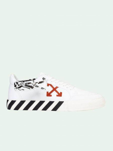 off-white Vulcan white sneaker