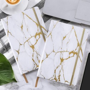 white marble ruled notebook, cheap mother's day gifts