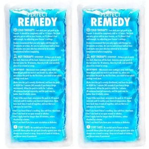 Perfect Remedy Gel Ice Packs for Injuries