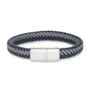 Nordstrom Woven Leather Bracelet for men