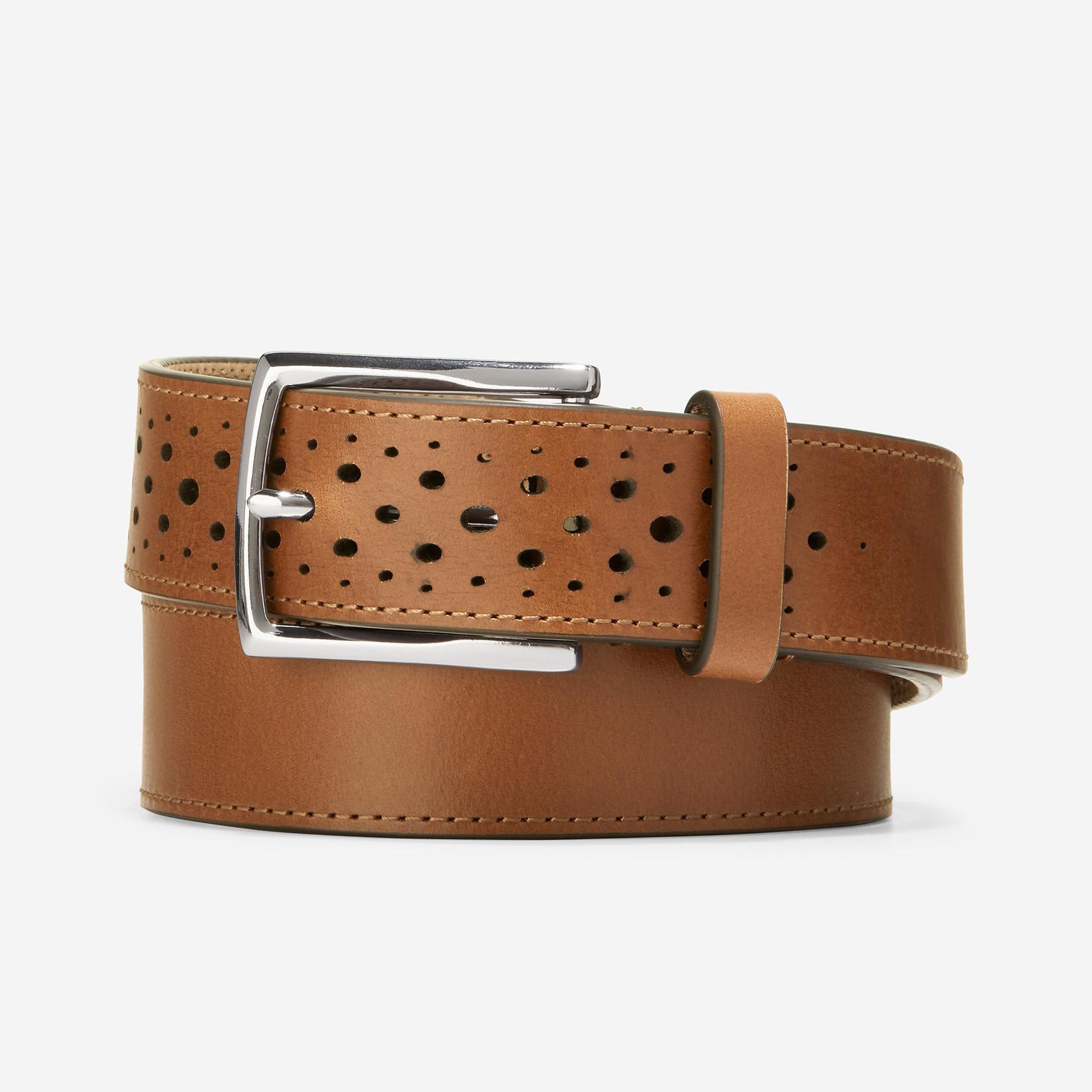 Cole Haan 32mm Washington Perforated Belt