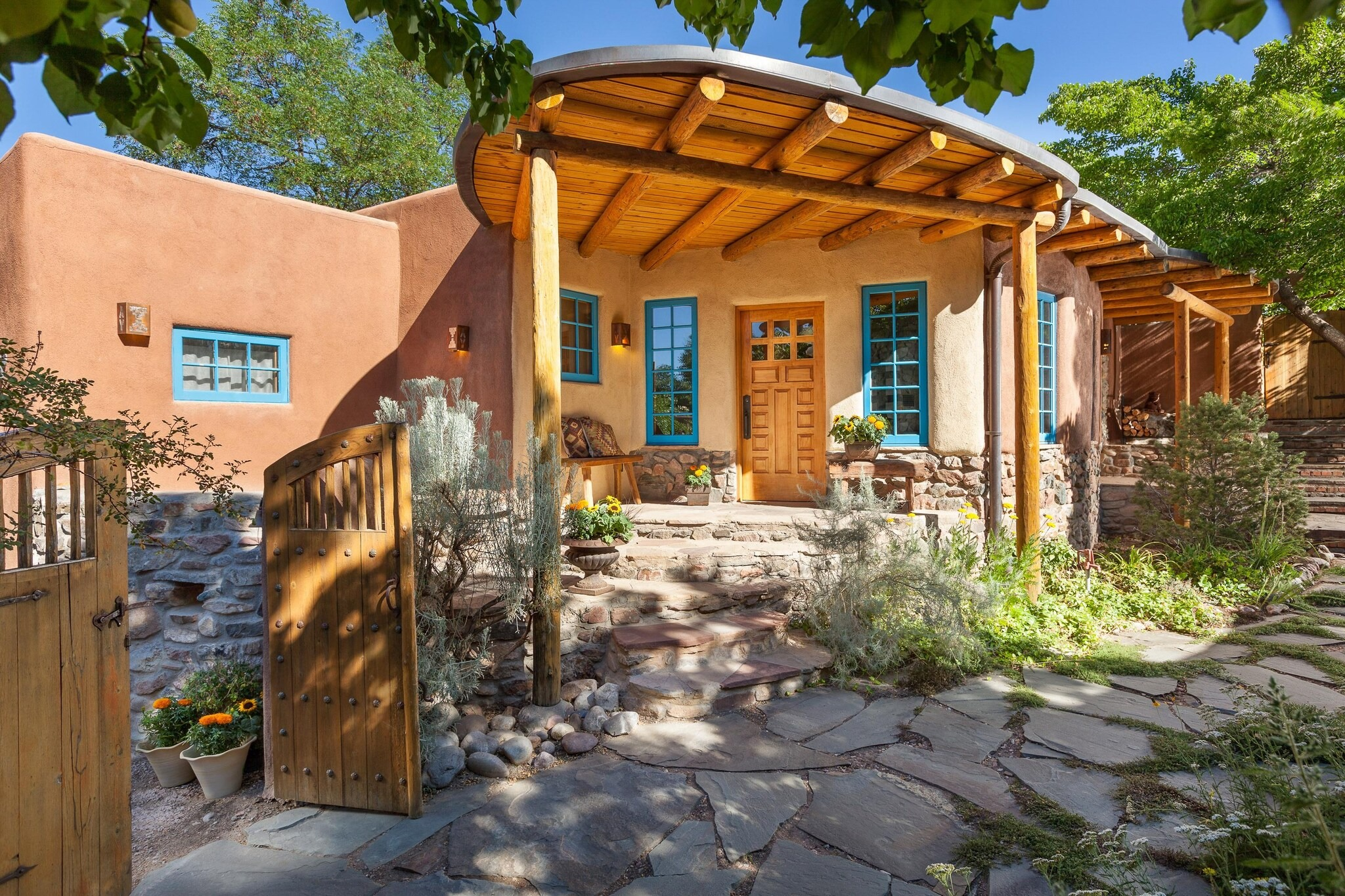 Rare and Restored Home in Santa Fe, New Mexico