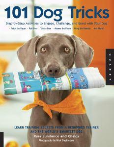101 dog tricks, best dog training books