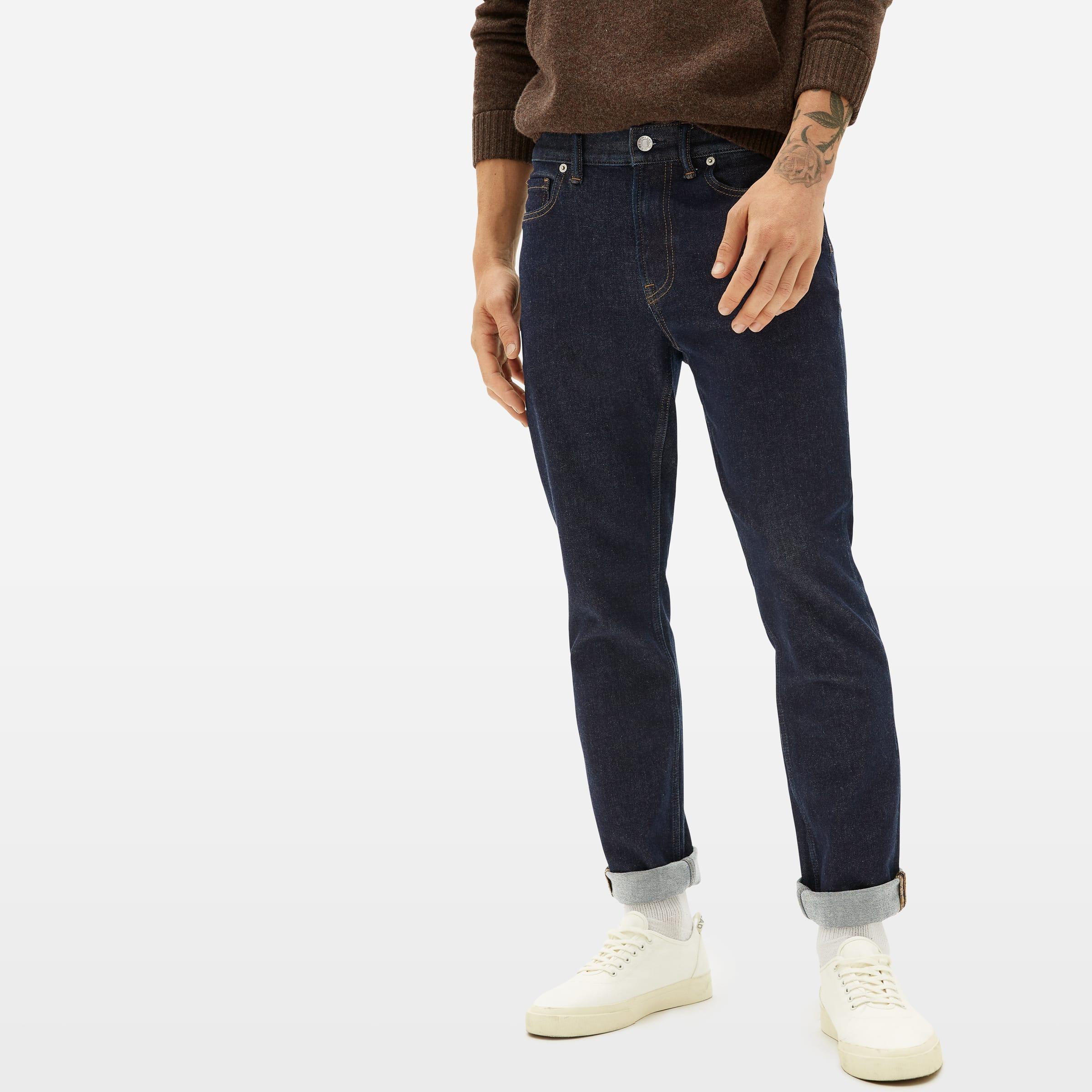 Everlane Slim 4-Way Stretch Organic Jeans