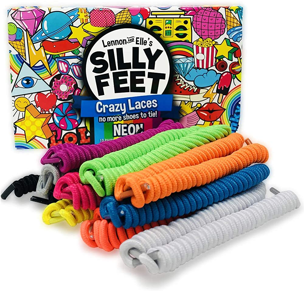 Silly Feet No Tie Shoelaces