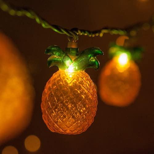 Wintergreen Pineapple String Lights