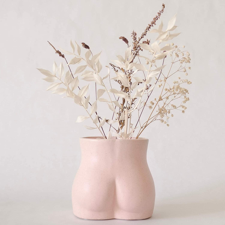Base Roots Body Vase Female Form