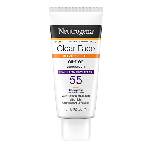 neutrogena clear face sunscreen
