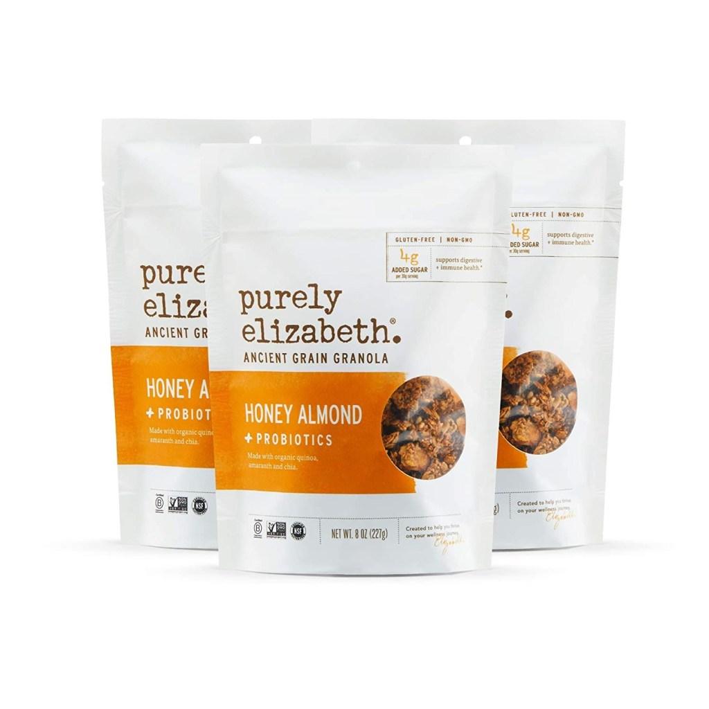 Purely Elizabeth Honey Almond Probiotic Granola, Best Granola